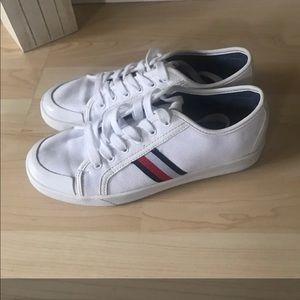 Tommy Hilfiger Canvas white Men's shoes.